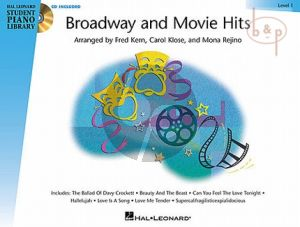 Broadway and Movie Hits Level 1