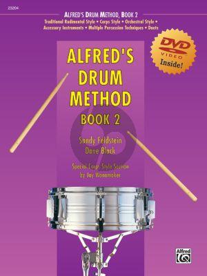 Alfred's Drum Method Vol. 2 (Book-DVD)