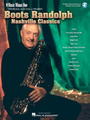 Boots Randolph Nashville Classics Tenor Saxophone (Book with Audio online) (MMO)