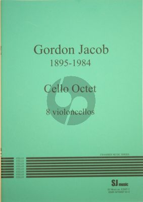 Jacob Cello Octet (8 Violoncellos) (Score/Parts) (edited by Robert Max)