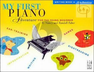 My First Piano Adventure Writing Book A