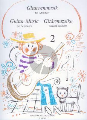 Guitar Music for Beginners Vol. 2 (edited by László Vereckei)
