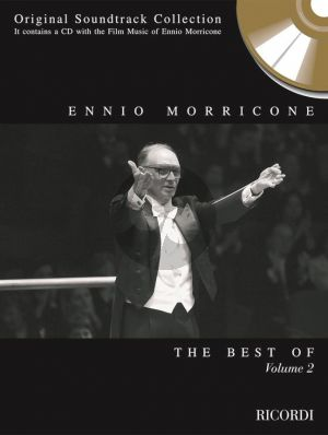 Best of Morricone Vol.2 ((Book and a CD which contains the Film Music of Ennio Morricone))