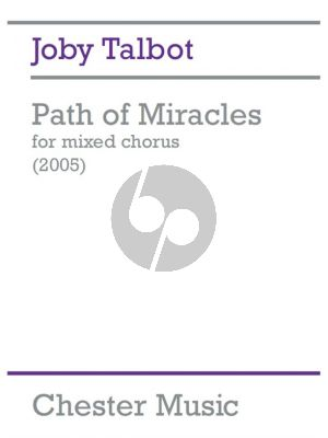 Talbot Path of Miracles (2005) Vocal Score SATB-Percussion