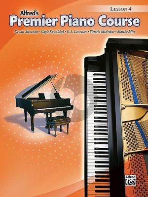 Premier Piano Course Book 4 Lessonbook