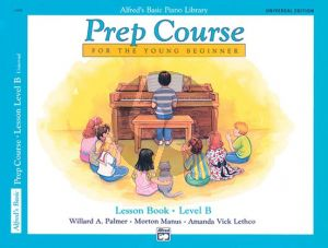 Alfred Prep Course Lesson Book Level B (Bk-Cd)
