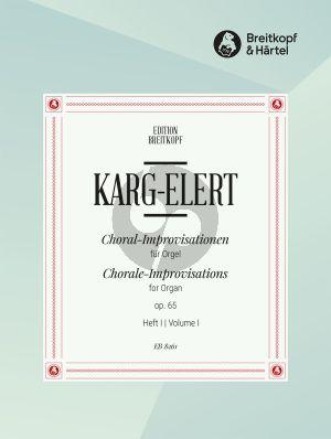 Choral - Improvisationen Op. 65 Vol. 1 Orgel