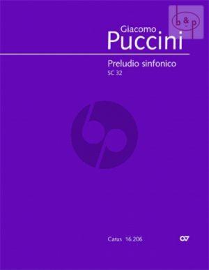 Preludio Sinfonico SC 32 Orchestra Full Score