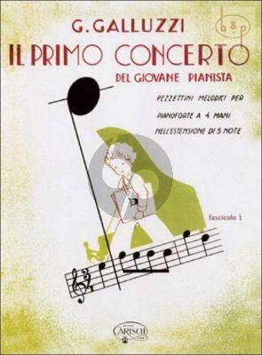 Il Primo Concerto Vol.1 Piano 4 hds