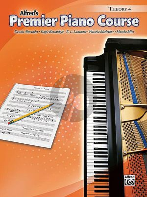 Premier Piano Course Theory Book 4