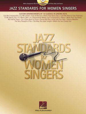 Album Jazz Standards for Women Singers (Bk-Cd)