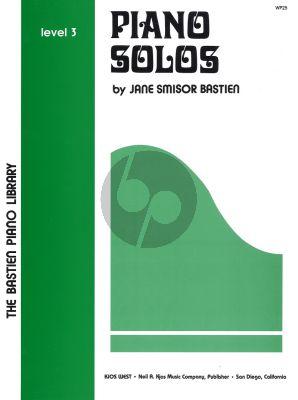 James Bastien Piano Solos level 3