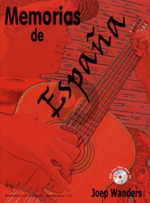Wanders Memorias de Espana for Guitar (Bk-Cd) (17 Spanish Pieces Grade 3 / 4)