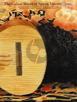 The Guitar Music of Spain Vol.3
