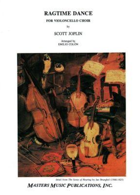 Joplin Ragtime Dance (Violoncello Choir) (Score/Parts) (Colon)
