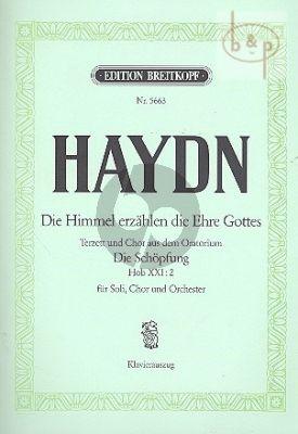 Die Himmel erzahlen die Ehre Gottes (Terzetto & Choir from Die Schopfung) (HWV XXI:2)
