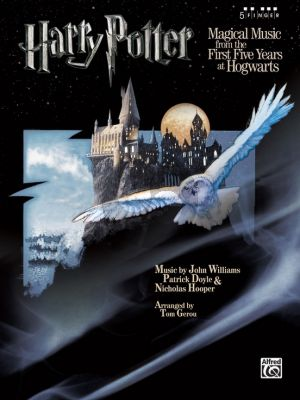 Harry Potter Magical Music from First the First Five Years at Hogwarts for 5 Finger Piano