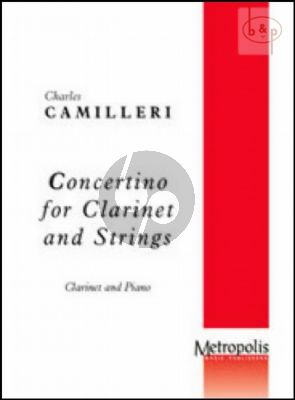 Concertino Clarinet and Piano
