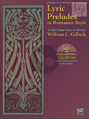 Lyric Preludes in Romantic Style Piano