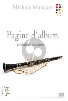 Pagina d' Album Clarinet-Piano