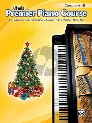 Premier Piano Course Book 1B Christmas