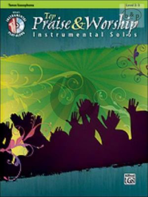 Top Praise and Worship Instrumetal Solos (Tenor Saxophone)