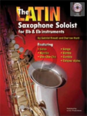 The Latin Saxophone Soloist (Bk-Cd)