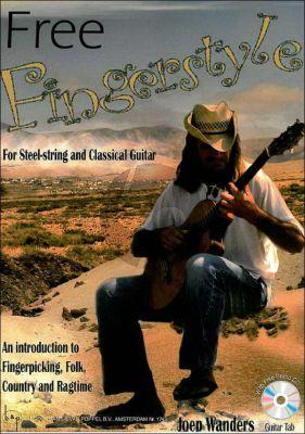 Wanders Free Fingerstyle Guitar (and TAB) (Bk-Demo Cd)