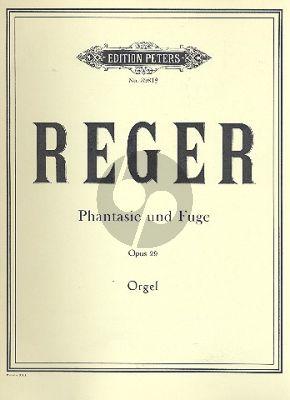 Reger Fantasie & Fuge c moll Op. 29 Orgel