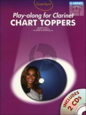 Guest Spot Play-Along Chart Toppers for Clarinet