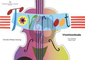 Wittop Koning Tovernoot Vol.1 - Vioolmethode voor Kinderen vanaf 4 Jaar (Bk-Cd) (Met illustraties van Marianna van Tuinen)