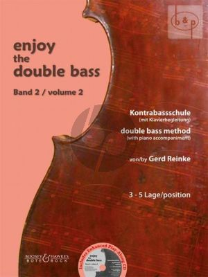 Enjoy the Double Bass Vol.2 (Double Bass Method with Piano Acc.)
