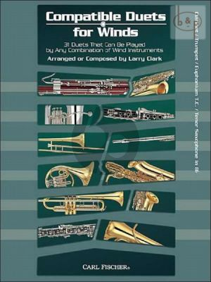 Compatible Duets for Winds Clar./Trumpet/Euph.[T.C]/Tenorsax[Bb]