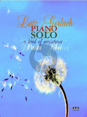 Solo Piano A Kind of Miniatures - Panta Rhei Klavier