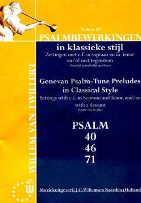 Psalmbewerkingen in Klassieke Stijl 3