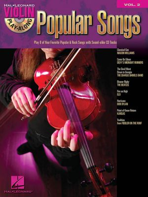 Popular Songs (Violin Play-Along Series Vol.2) (Bk-Cd)
