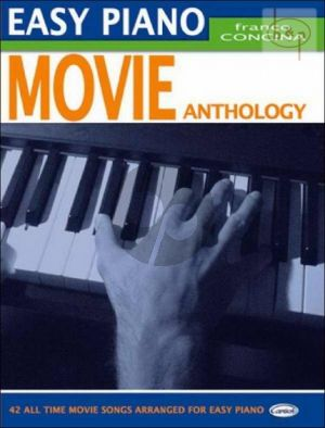 Movie Anthology Easy Piano (Arr. by Franco Concina)