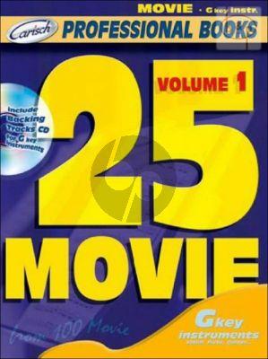 25 Movie Vol.1 (Bk-Cd)