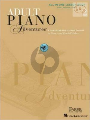 Adult Piano Adventures All-In-One Lesson Book 2