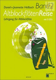 Altblockfloten-Reise Vol.2