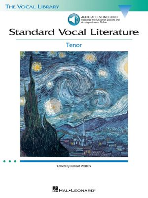 Standard Vocal Literature for Tenor (Bk-Cd) (Richard Walters)