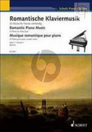Romantische Klaviermusik Vol.1