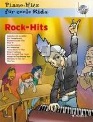 Rock-Hits (Bk-Cd) Piano Hits fur Coole Kids