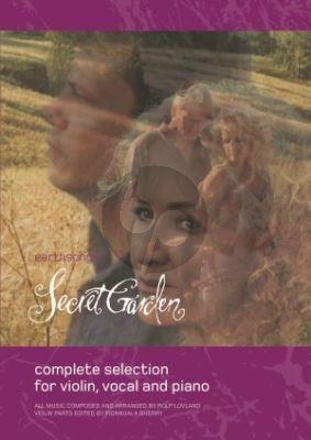 Secret Garden Earth Songs Violin-Piano (including 4 Vocal Songs)
