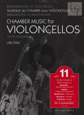 Chamber Music for Violoncellos Vol.11 (Pejtsik)