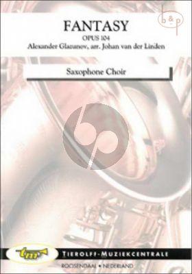 Fantasy Op.104 (Saxophone Choir)