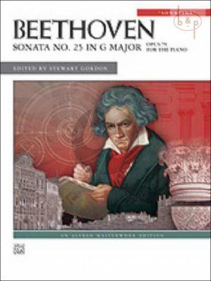 Sonata No.25 G-Major Op.79