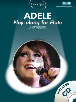 Guest Spot Adele Playalong Flute (Bk-Cd)