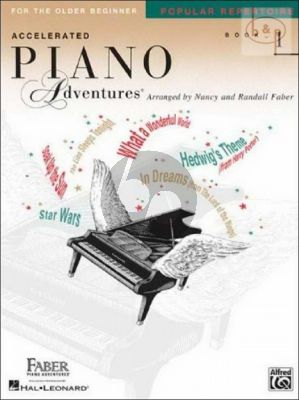 Accelerated Piano Adventures for the Older Beginner Popular Repertoire Book 1