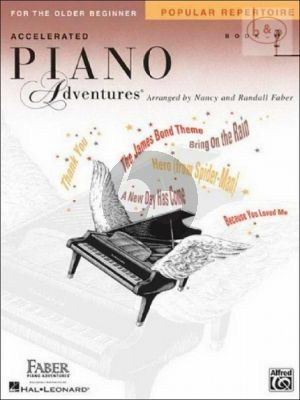 Accelerated Piano Adventures for the Older Beginner Popular Repertoire Book 2